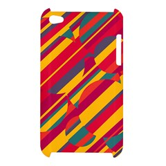 Colorful hot pattern Apple iPod Touch 4