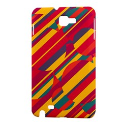 Colorful hot pattern Samsung Galaxy Note 1 Hardshell Case