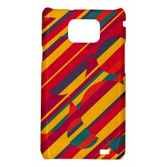 Colorful hot pattern Samsung Galaxy S2 i9100 Hardshell Case