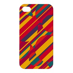 Colorful hot pattern Apple iPhone 4/4S Premium Hardshell Case