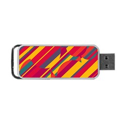 Colorful hot pattern Portable USB Flash (Two Sides)