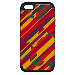 Colorful hot pattern Apple iPhone 5 Hardshell Case (PC+Silicone)