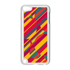 Colorful hot pattern Apple iPod Touch 5 Case (White)