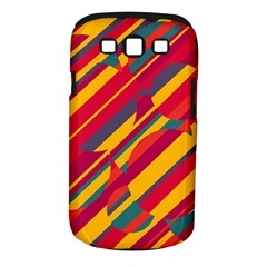 Colorful hot pattern Samsung Galaxy S III Classic Hardshell Case (PC+Silicone)
