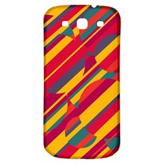 Colorful hot pattern Samsung Galaxy S3 S III Classic Hardshell Back Case