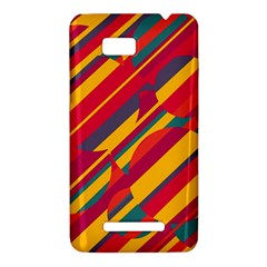 Colorful hot pattern HTC One SU T528W Hardshell Case