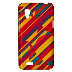Colorful hot pattern HTC Desire VT (T328T) Hardshell Case