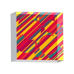 Colorful hot pattern 4 x 4  Acrylic Photo Blocks