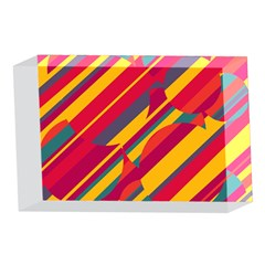 Colorful hot pattern 4 x 6  Acrylic Photo Blocks