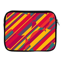 Colorful hot pattern Apple iPad 2/3/4 Zipper Cases