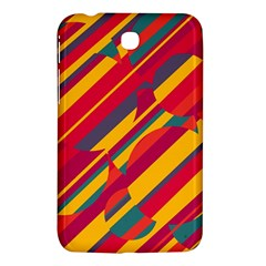 Colorful hot pattern Samsung Galaxy Tab 3 (7 ) P3200 Hardshell Case