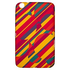 Colorful hot pattern Samsung Galaxy Tab 3 (8 ) T3100 Hardshell Case