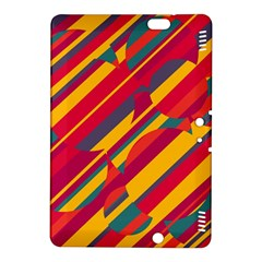 Colorful hot pattern Kindle Fire HDX 8.9  Hardshell Case