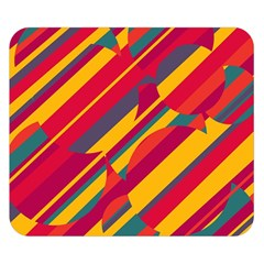 Colorful hot pattern Double Sided Flano Blanket (Small)