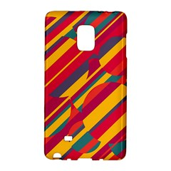 Colorful hot pattern Galaxy Note Edge