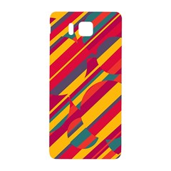 Colorful hot pattern Samsung Galaxy Alpha Hardshell Back Case