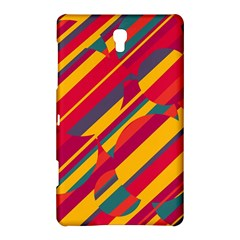 Colorful hot pattern Samsung Galaxy Tab S (8.4 ) Hardshell Case