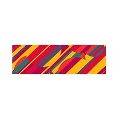 Colorful hot pattern Satin Scarf (Oblong)