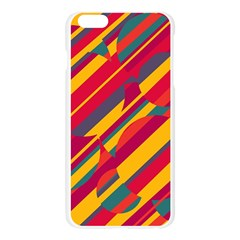 Colorful hot pattern Apple Seamless iPhone 6 Plus/6S Plus Case (Transparent)