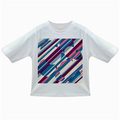 Blue and pink pattern Infant/Toddler T-Shirts