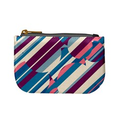 Blue and pink pattern Mini Coin Purses