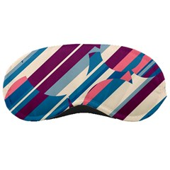 Blue and pink pattern Sleeping Masks