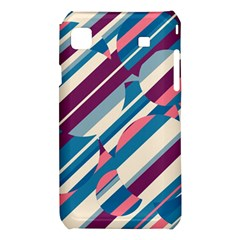 Blue and pink pattern Samsung Galaxy S i9008 Hardshell Case