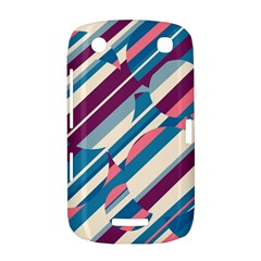 Blue and pink pattern BlackBerry Curve 9380