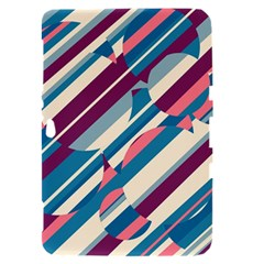 Blue and pink pattern Samsung Galaxy Tab 8.9  P7300 Hardshell Case