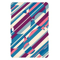 Blue and pink pattern Samsung Galaxy Tab 10.1  P7500 Hardshell Case