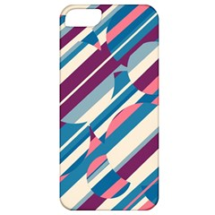 Blue and pink pattern Apple iPhone 5 Classic Hardshell Case