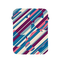 Blue and pink pattern Apple iPad 2/3/4 Protective Soft Cases
