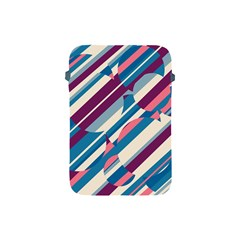 Blue and pink pattern Apple iPad Mini Protective Soft Cases