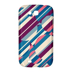Blue and pink pattern Samsung Galaxy Grand GT-I9128 Hardshell Case