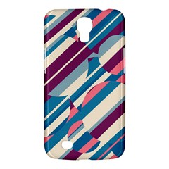 Blue and pink pattern Samsung Galaxy Mega 6.3  I9200 Hardshell Case