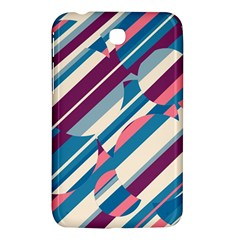 Blue and pink pattern Samsung Galaxy Tab 3 (7 ) P3200 Hardshell Case