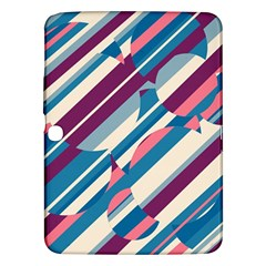 Blue and pink pattern Samsung Galaxy Tab 3 (10.1 ) P5200 Hardshell Case