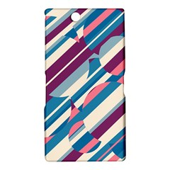 Blue and pink pattern Sony Xperia Z Ultra