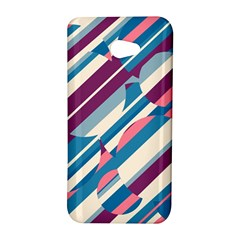 Blue and pink pattern HTC Butterfly S/HTC 9060 Hardshell Case