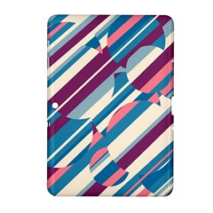 Blue and pink pattern Samsung Galaxy Tab 2 (10.1 ) P5100 Hardshell Case