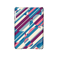 Blue and pink pattern iPad Mini 2 Hardshell Cases