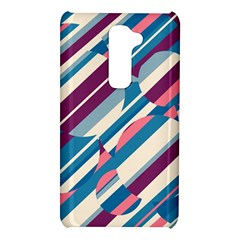 Blue and pink pattern LG G2