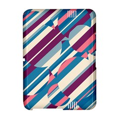 Blue and pink pattern Amazon Kindle Fire (2012) Hardshell Case