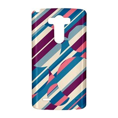Blue and pink pattern LG G3 Hardshell Case