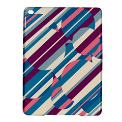 Blue and pink pattern iPad Air 2 Hardshell Cases