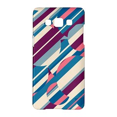 Blue and pink pattern Samsung Galaxy A5 Hardshell Case