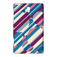 Blue and pink pattern Samsung Galaxy Tab S (8.4 ) Hardshell Case