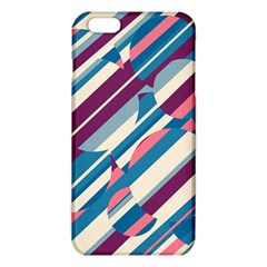 Blue And Pink Pattern Iphone 6 Plus/6s Plus Tpu Case