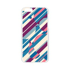 Blue and pink pattern Apple Seamless iPhone 6/6S Case (Transparent)