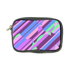 Pink, purple and green pattern Coin Purse